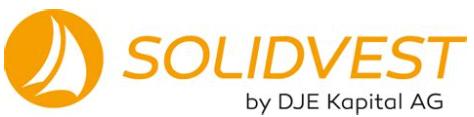 Solidvest - Online Anlage PARAMUS Partner